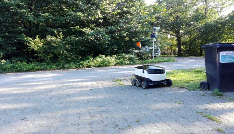 روبوتات للتوصيل